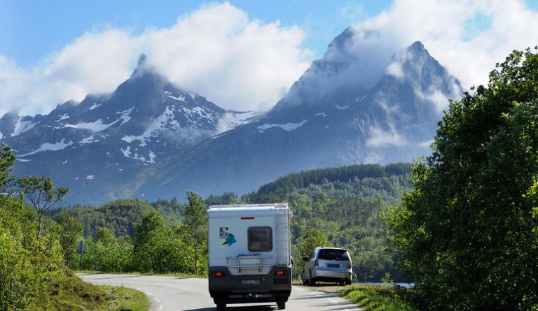 Bobiler kan stå opptil to dager på samme sted © Jarle Wæhler/Statens Vegvesen