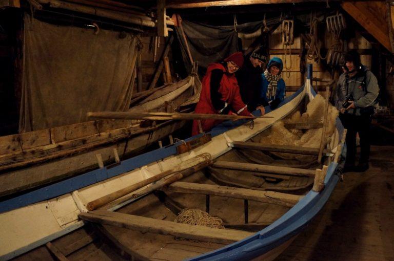 Nordland boats on display © Norsk fiskeværmuseum Lofoten
