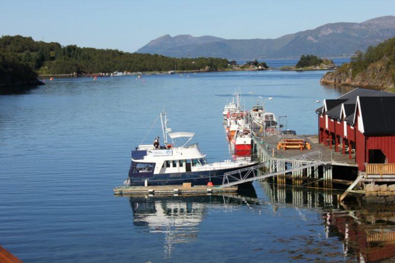 All aboard! During the Summer boat trips are organised © Kine Anette Johnsen/Akvakultur i Vesterålen