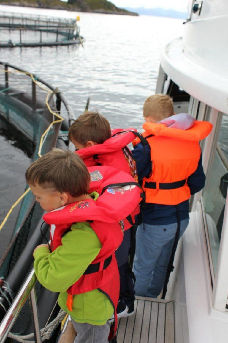 Aquaculture is family friendly © Kine Anette Johnsen/Akvakultur i Vesterålen