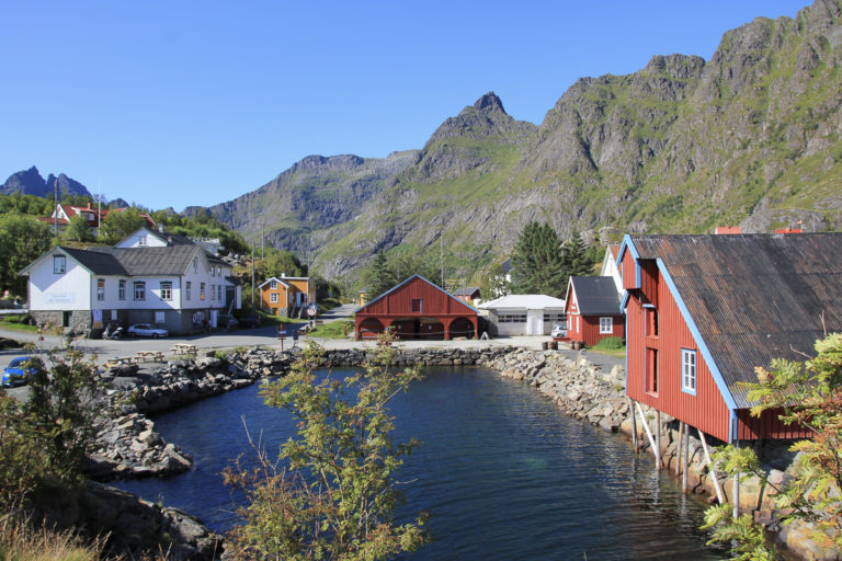Å er en trygg havn midt i Atlanterhavet © Museum Nord
