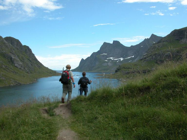 På vei ned til Bunesstranda © Geir Rune Holm