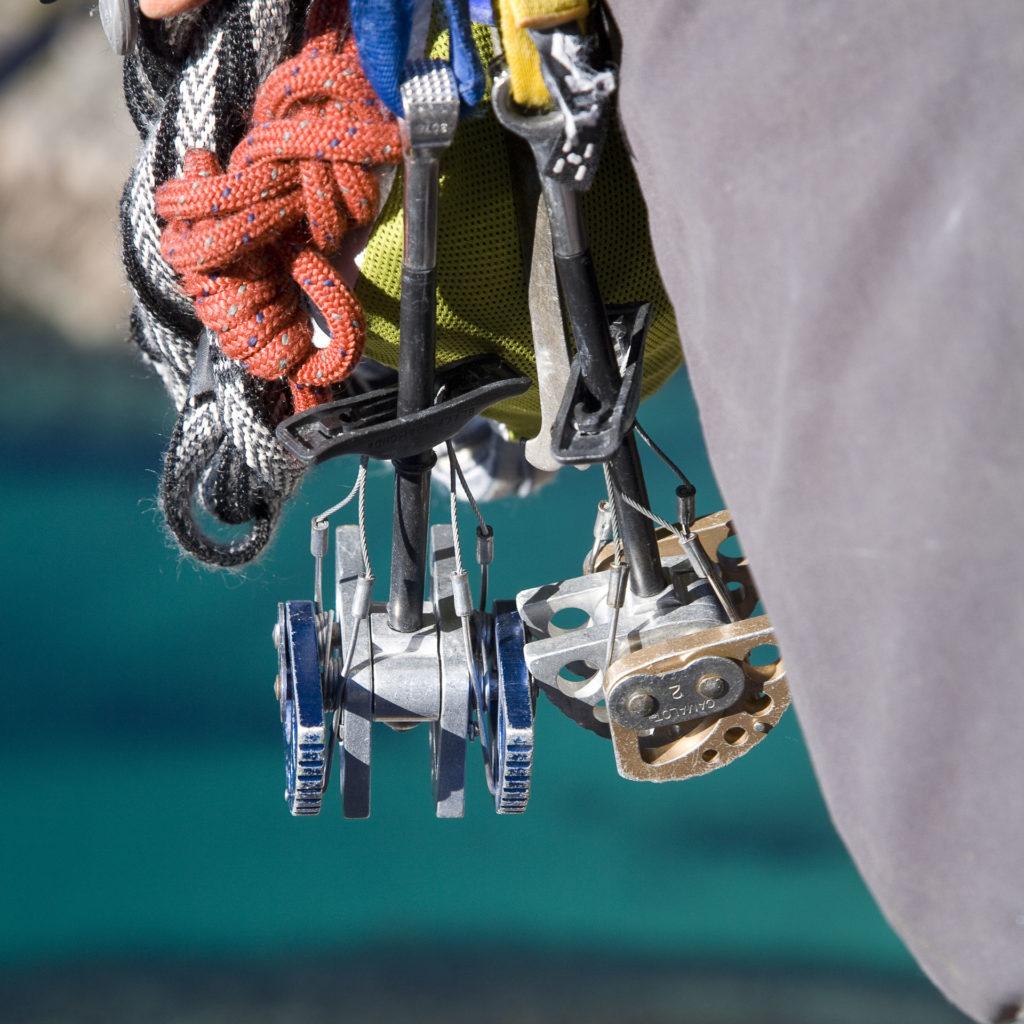 klatring henningsvær kamkiler prusik