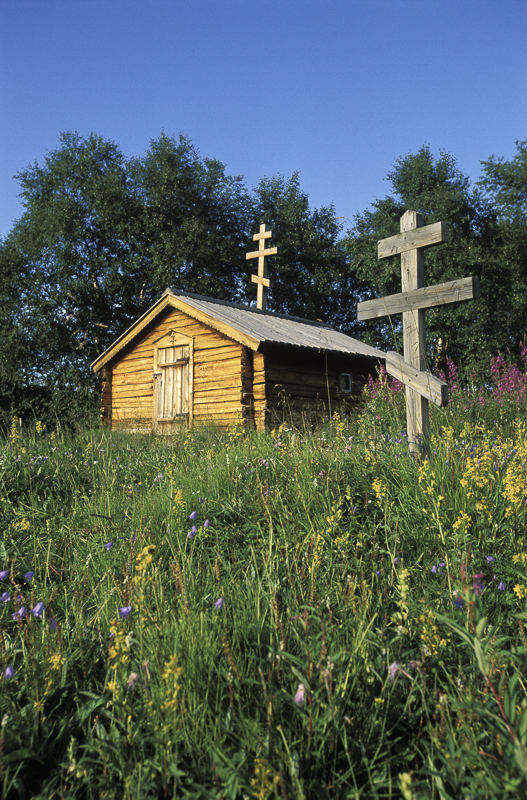 The tiny Orthodox St. George chapel © Bjarne Riesto