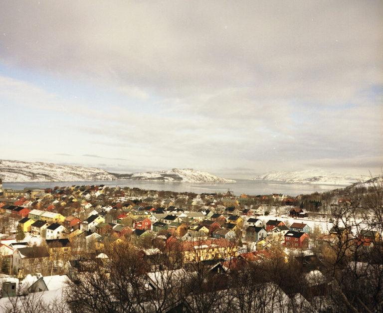 Winter view of Kirkenes © Jørn Tomter