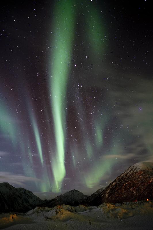Nordlys på Andøya © Marten Bril