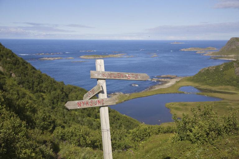 Fra Dronningruta mellom Nyksund og Stø © Ørnulf Berthinussen