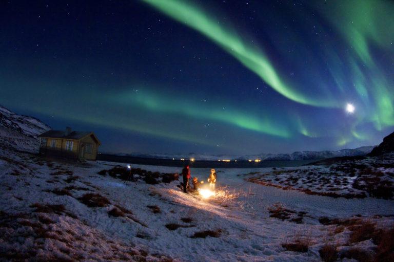 Northern Lights ribbons over the nightsky near Hammerfest © Ziggi Wantuch