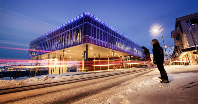 The culture house, built where once the giant Findus fish factory was found © Ziggi Wantuch