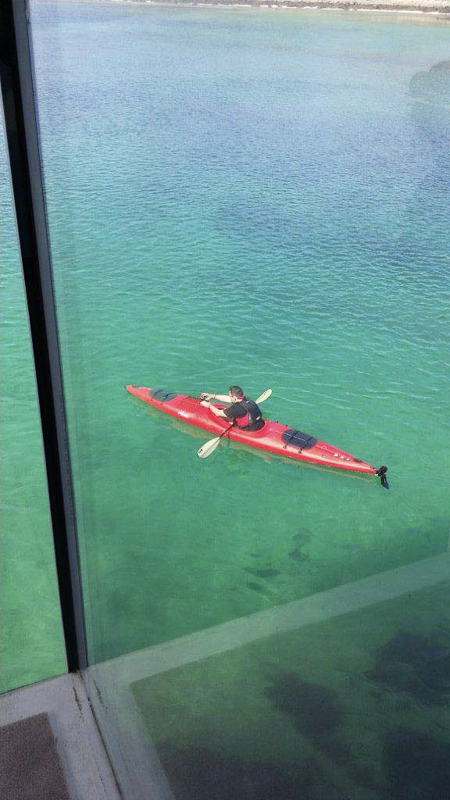 Kayaking in the emerald waters is a must © Manshausen