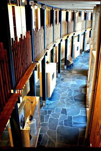 Vandrehallen, der de uformelle samtalene foregår © Sametinget