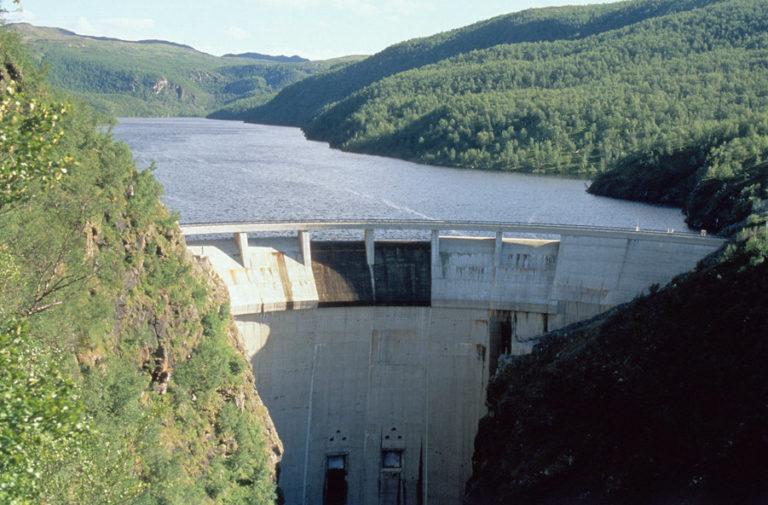 The infamous Alta-Kautokeino dam © Bjørn Moholt