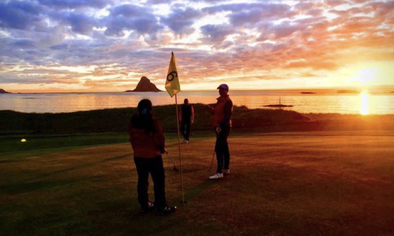 Golf time © Midnattsol Camping