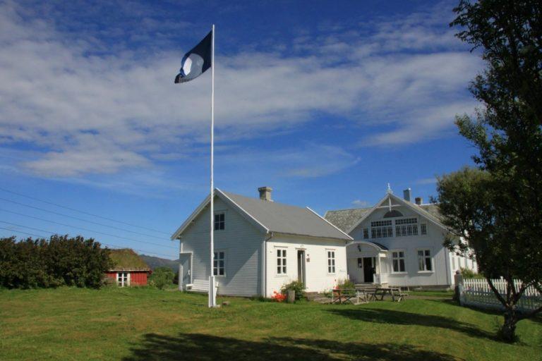 Et flott hus i jugendstil er blitt til Bø museum © Knut Hansvold
