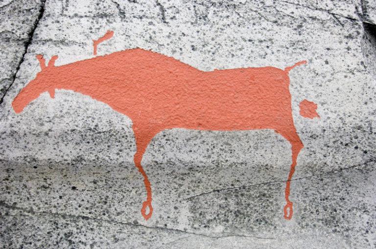 Rock carving example © Johan Wildhagen