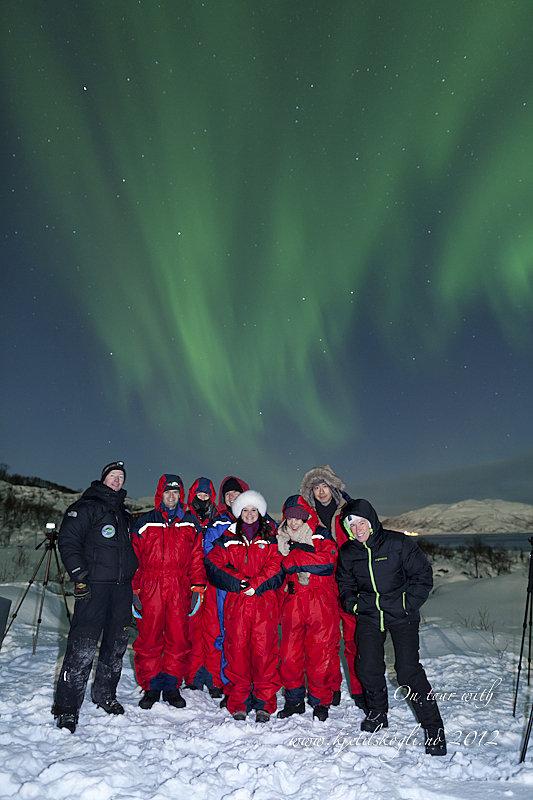 Kjetil, til venstre, og en gjeng glade fotografer © Kjetil Skogli
