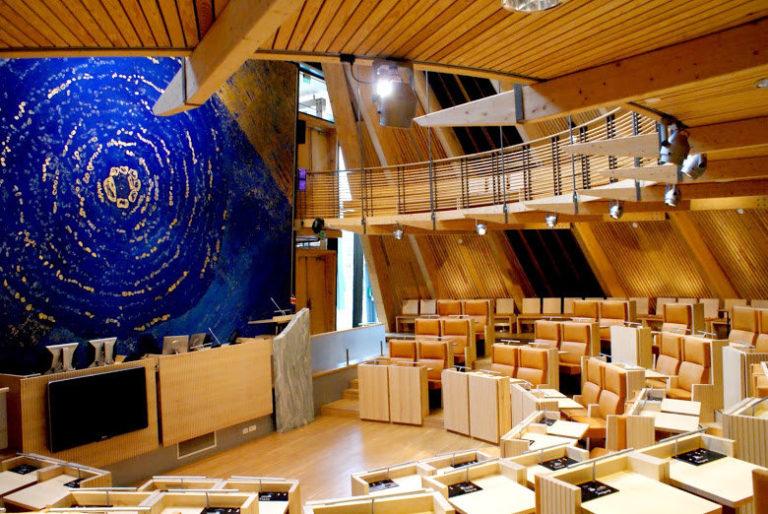 Plenumssalen © Sametinget