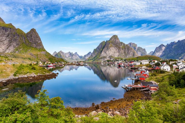 Det er få steder i verden som er like vakkert som Reine © Rickard Eriksson