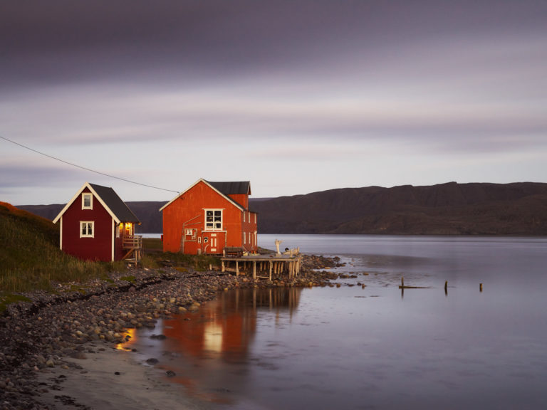 Kongsfjord overlevde andre verdenskrig uskadd © Emile Holba