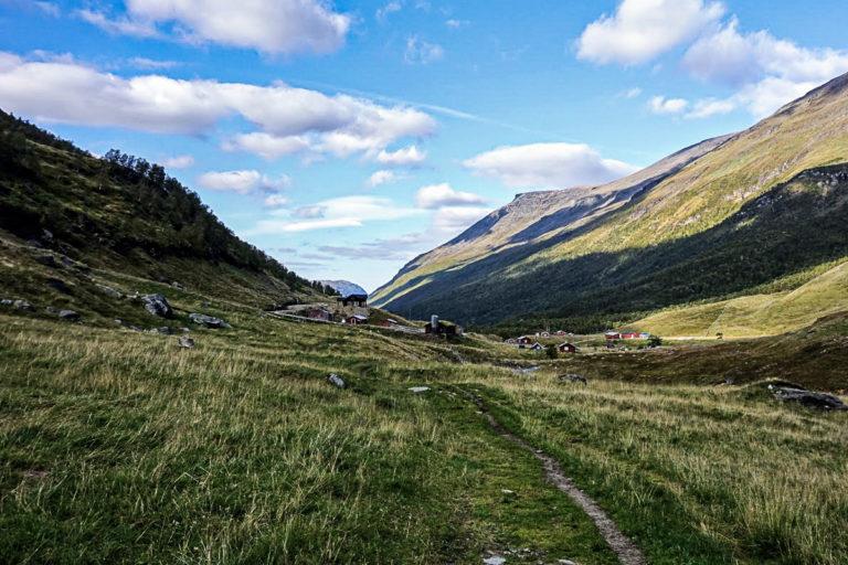 Setra i Manndalen er utgangspunktet for turen opp © Knut Hansvold