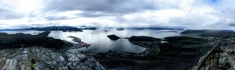Utsikt fra Tyven mot Rypefjord © Knut Hansvold