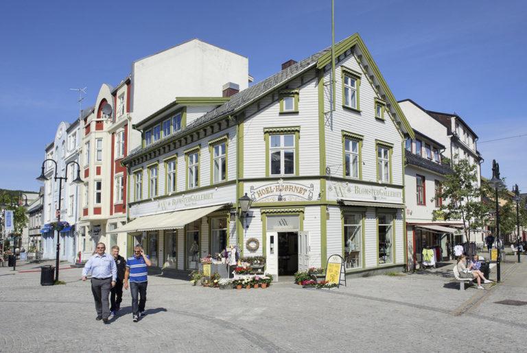 På bytur i Harstad © Bård Løken