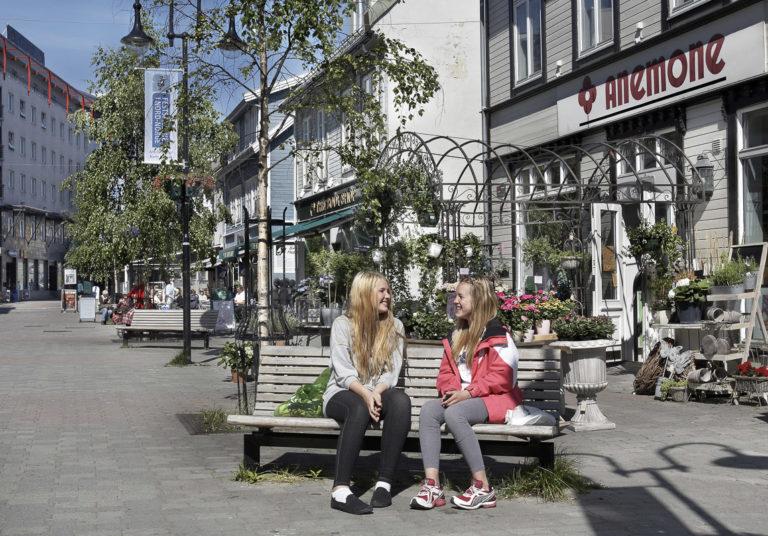 Sommeridyll på Torget © Bård Løken