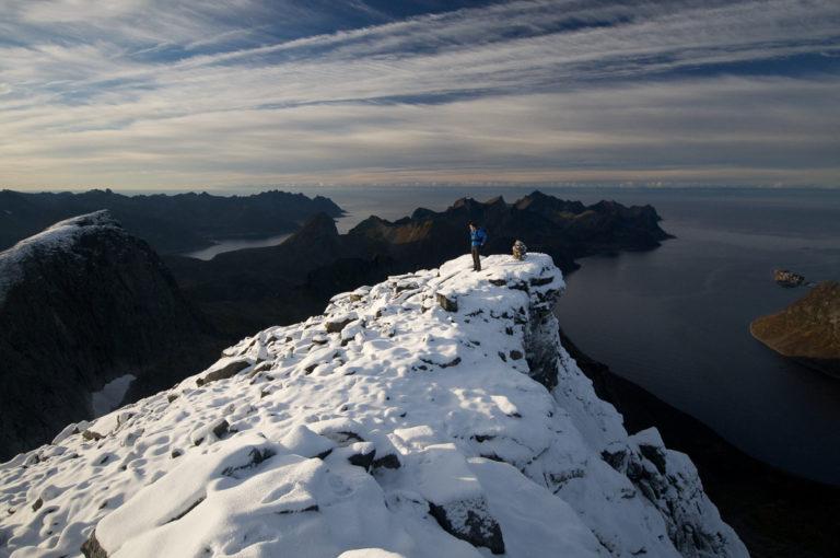 Keipen har fått den første snøen © Svein Petter Aagaard