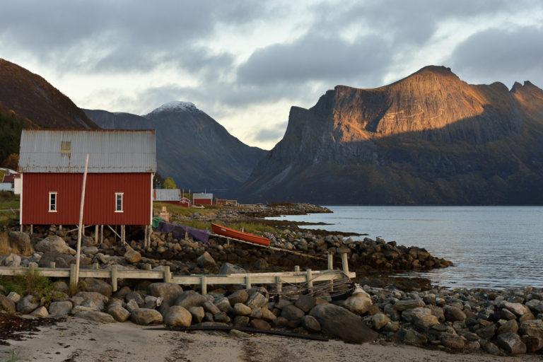 Fra Gryllefjord © Jarle Wæhler/Statens vegvesen