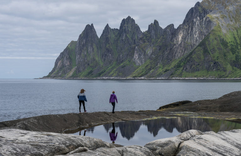 Okshornan sett fra Tungeneset © Jarle Wæhler/Statens vegvesen