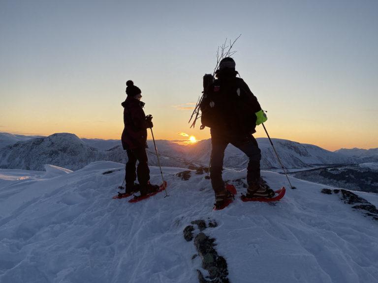 The sun returns to Harstad in mid January after the Polar Night © Bernd Kossmann