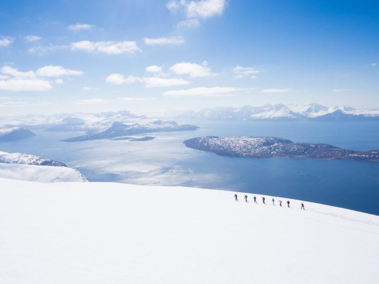 En formiddag i Lyngsalpene © Kristin F Olsen