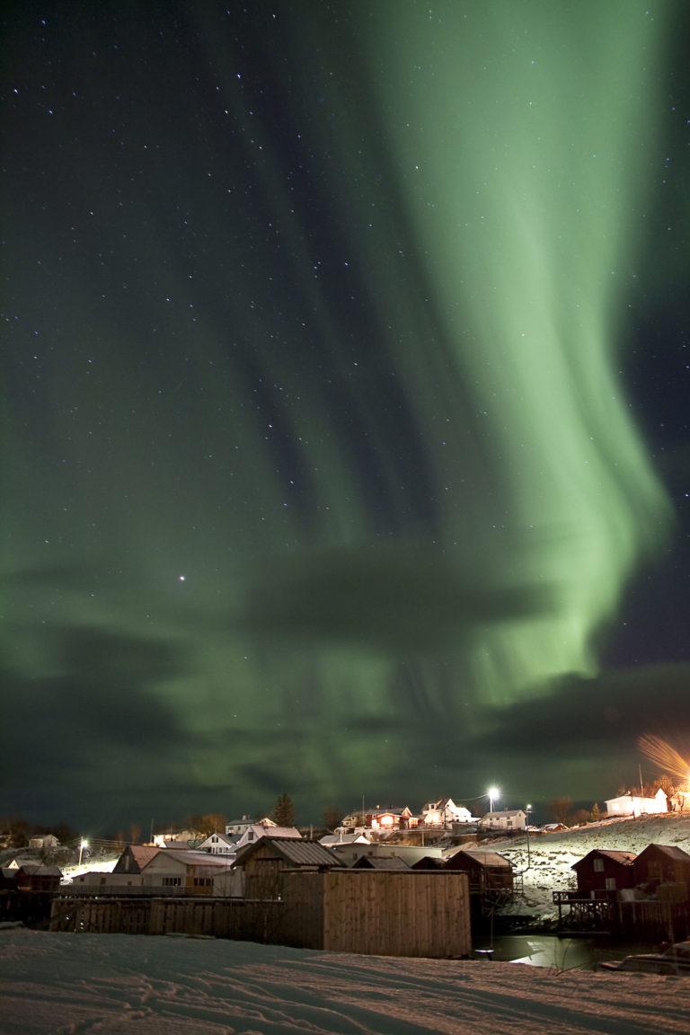 Northern Lights over Bodø © Richard Varga