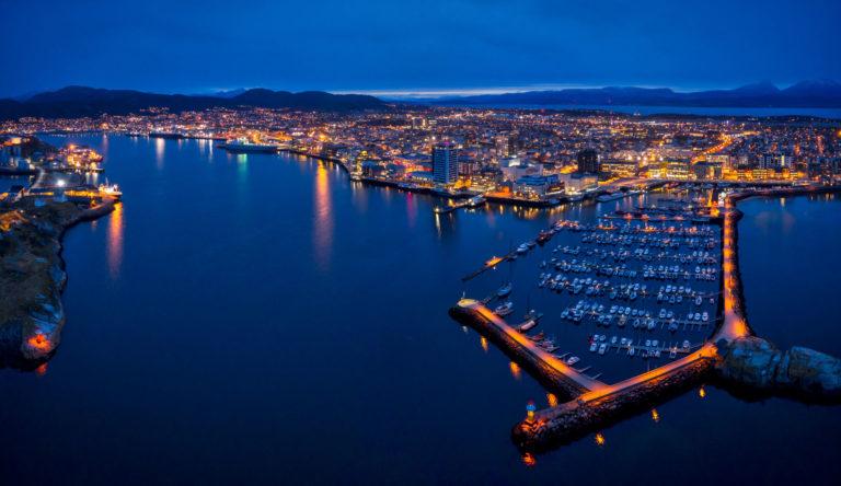Moloen i Bodø er en fin spasertur fra byen © Kent Even Grundstad