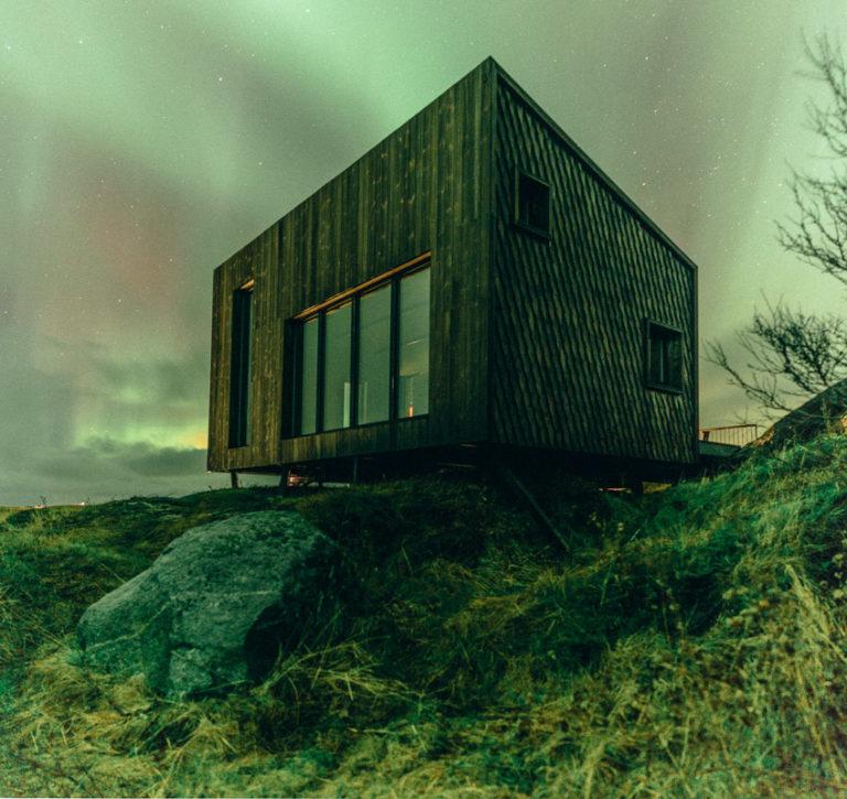 Nordlys over Fleinvær © Martin Losvik