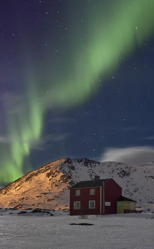Nordlys på Sørøya © Anne Olsen-Ryum