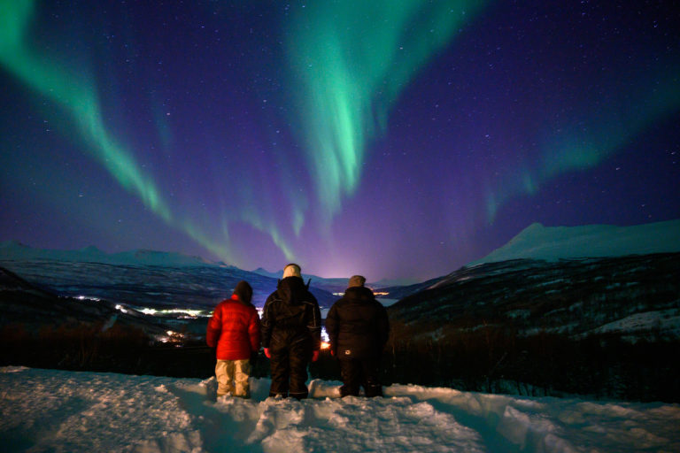 Viewing the Lights over Narvik © Rune Dahl/Visit Narvik