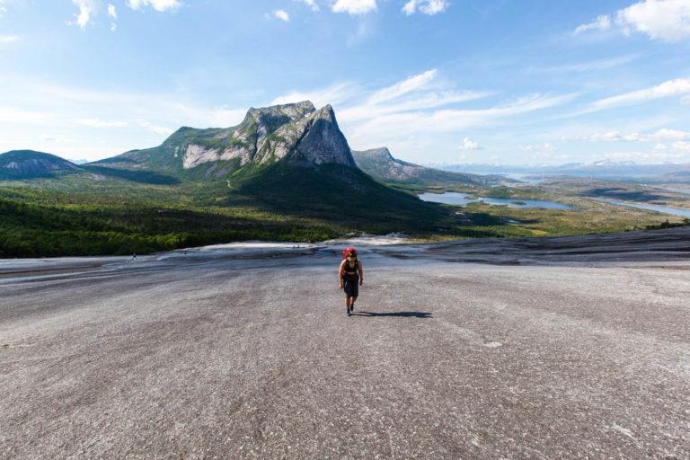 På vei opp Verdenssvaet © Mats Hoel Johannessen