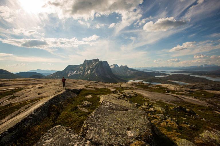 Granittjungelen i nærheten av Narvik er et klatremekka © Mats Hoel Johannessen