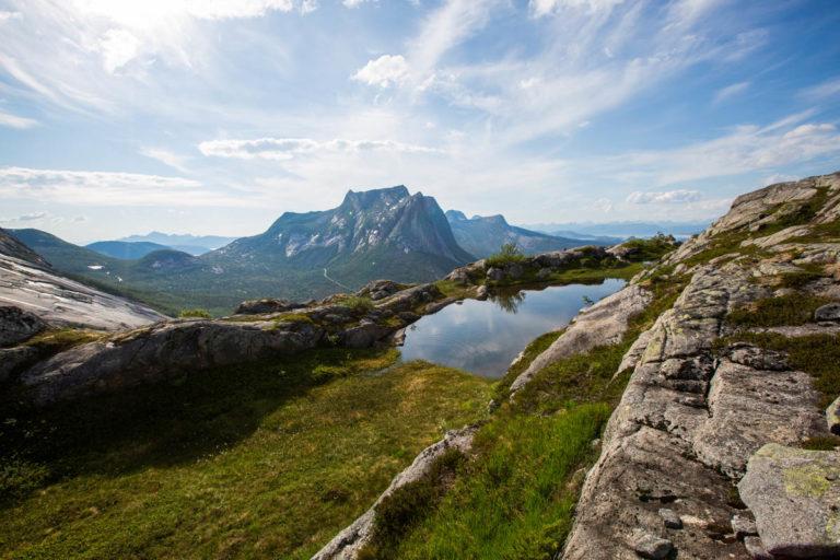 Fin utsikt overalt! © Mats Hoel Johannessen