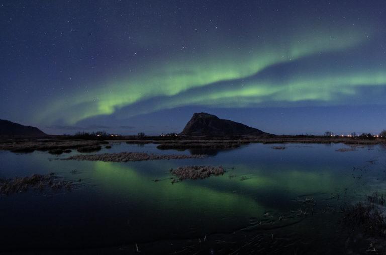 The island of Gimsøy © Lofoten Aktiv