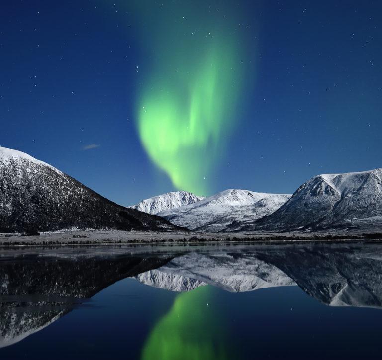 Fra Buksnesfjord på Hinnøya © Marius Birkeland