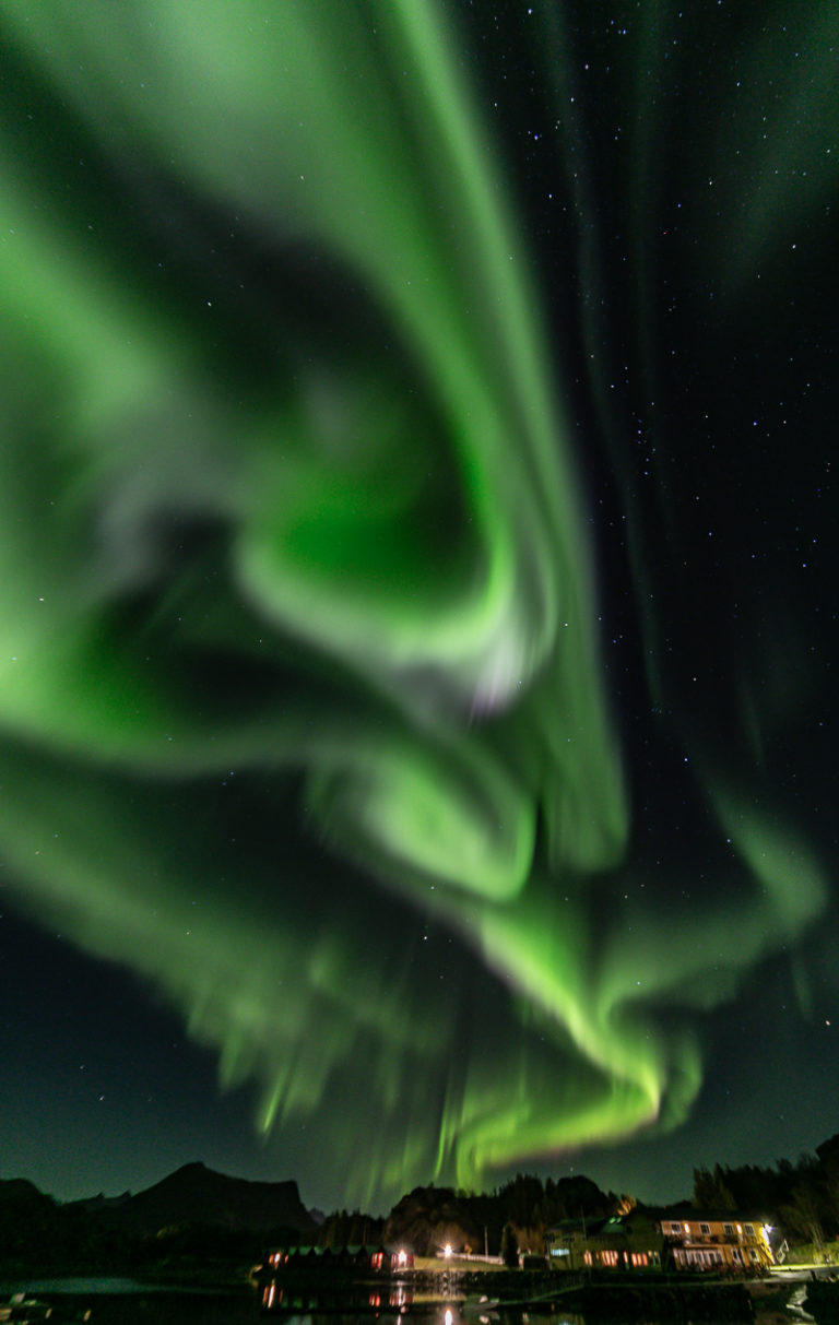 Swirls in crazy shapes © Lofoten Aktiv