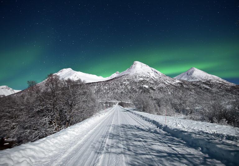 Iskaldt og frossent, med gode sjanser for klar himmel © Marius Birkeland