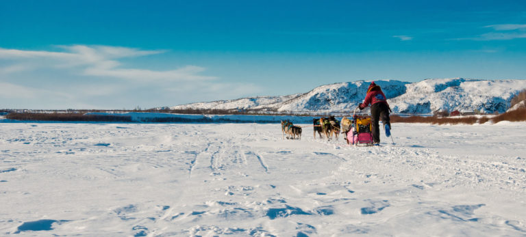 Finnmarksløpet go through magnificent Arctic landscape © Geir Stian Larsen