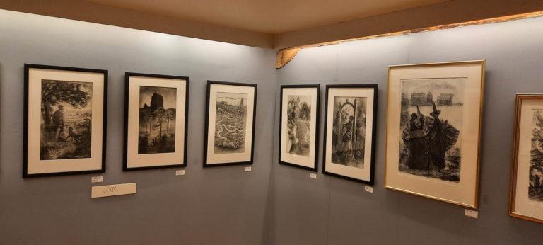 Illustrasjoner av Hamsuns fortellinger © Tone Sandvik