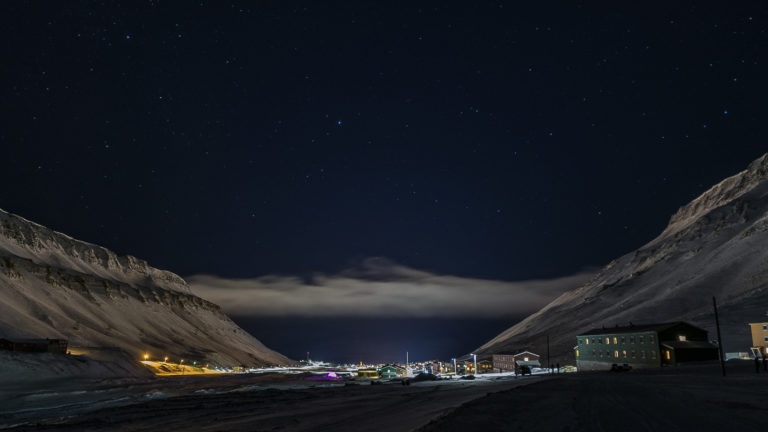 """Nybyen """"New Town"""" is in the upper end of the valley © Jarle Røssland"""