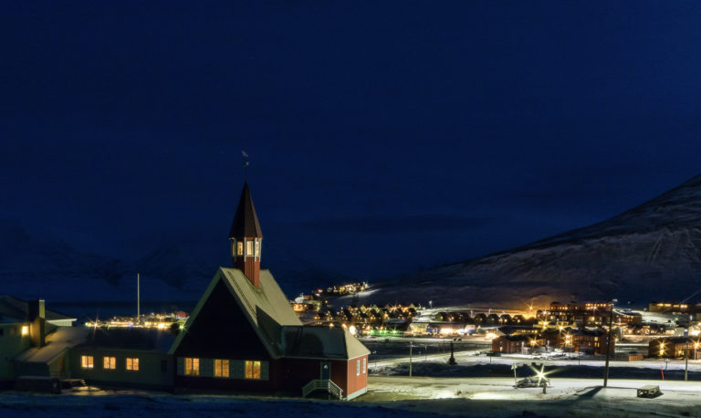 The Svalbard church from 1957 is the world's northernmost parish church, but there is a Russian-Orthodox chapel at Frans Josef Land that is actually a bit furthern north © Jarle Røssland