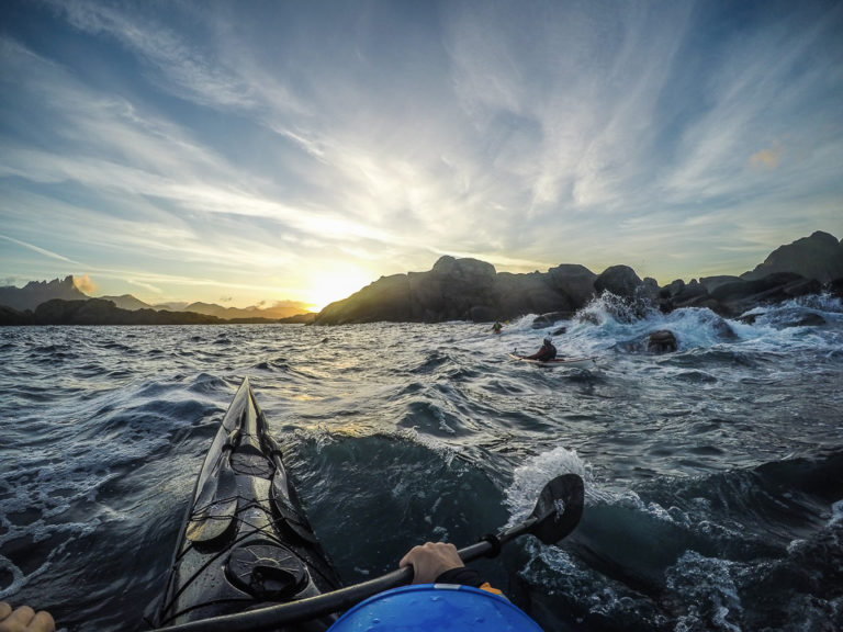 Choppy waters at Ballstad © Hattvika Lodge