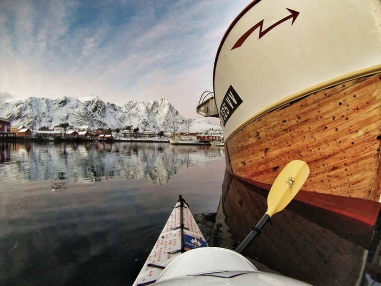 In the winter, there are plenty others out at sea © Hattvika Lodge